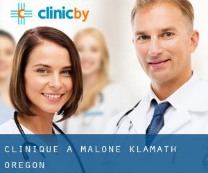 clinique à Malone (Klamath, Oregon)