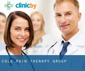 Cole Pain Therapy Group