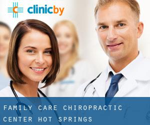 Family Care Chiropractic Center Hot Springs